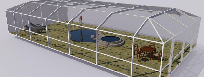 new pool enclosure design software