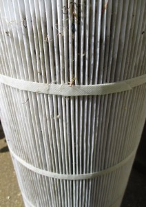 Dirty Filter Cartridge