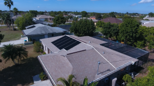 Fort Myers, FL Solar Pool Panel Installation Photo
