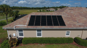 Fort Myers Solar Panel for Pools Installation Photo