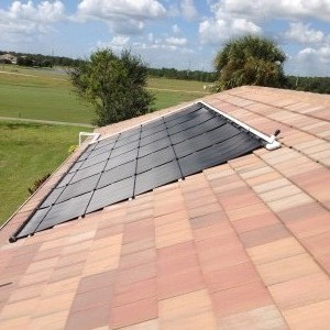 Fort Myers Swimming Pool Heater with Solar Panels