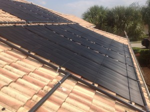Large Fort Myers Home with Solar Pool Heating Panels