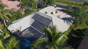 Naples, FL Solar Pool Heating Panel Installation
