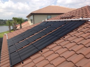 Naples Solar Pool Heating Panels